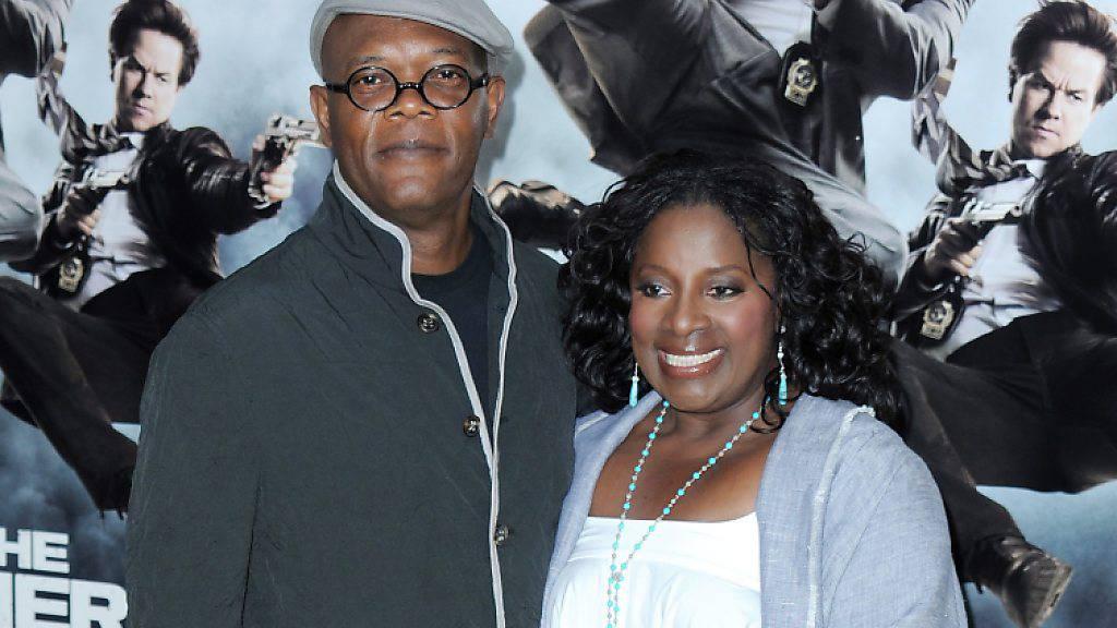 Samuel L. Jackson und seine Frau LaTanya Richardson sind seit 40 Jahren glücklich miteinander - auch weil sie sich ab und zu aus dem Weg gehen. (Archivbild)