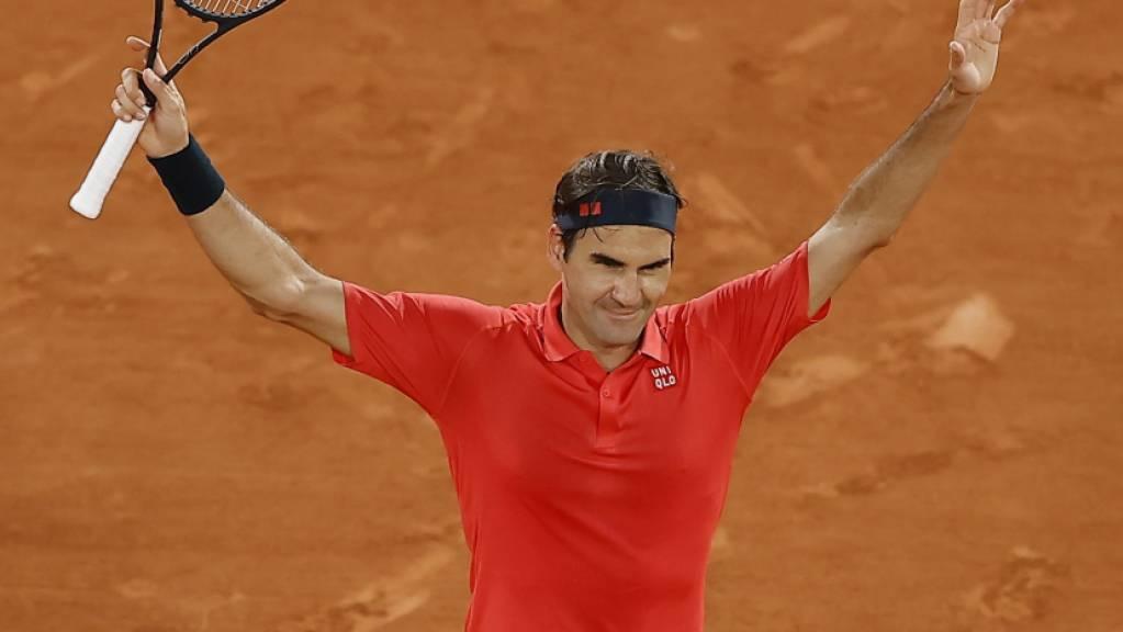 Begeistert mit Sieg und erschreckt mit Forfait-Gedanken: Roger Federer in Paris