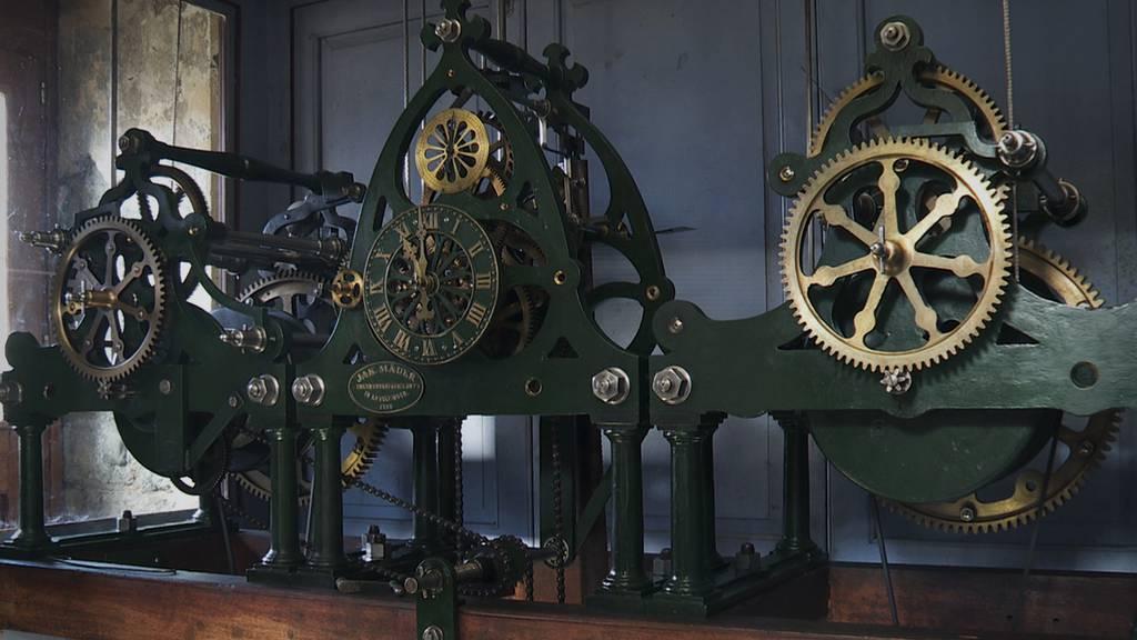 Historische Linsebühler Kirchenuhr schlägt wieder