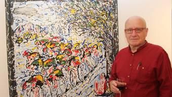 Die Ausstellung von Ricardo Gago in der Galerie Mauritiushof in Bad Zurzach verbindet Kunst und Radsport.