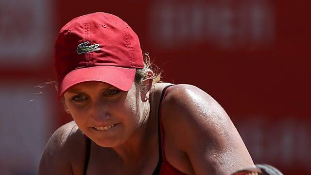 Timea Bacsinszky (24) steht in Paris in der zweiten Runde