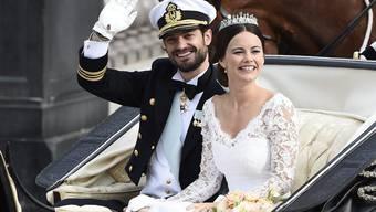 Schwedens Prinz Carl Philipp und seine Sofia