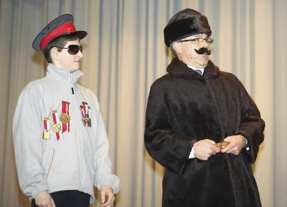 Vladimir, der russische Oligarch, soll Konfetti-Sponsor werden