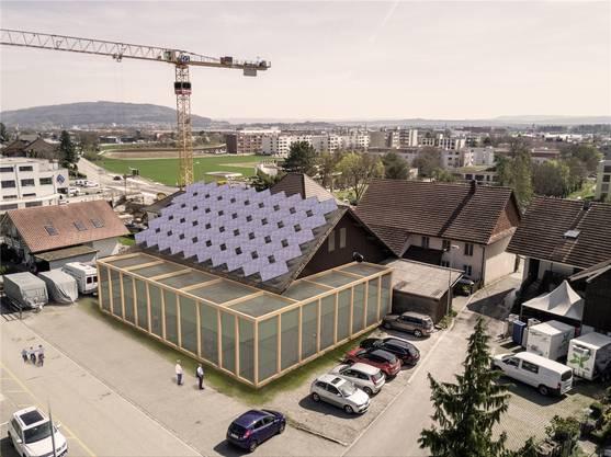 Visionär: Östlich des Gasthofs wurde die Zuchtfarm für essbare Insekten gebaut.