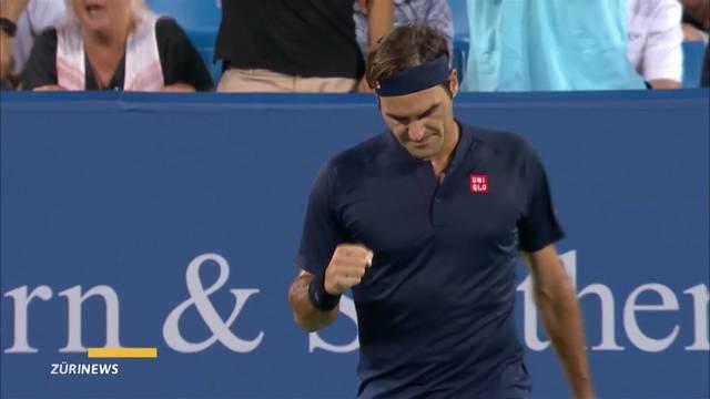 Roger Federer bezwingt Stan Wawrinka