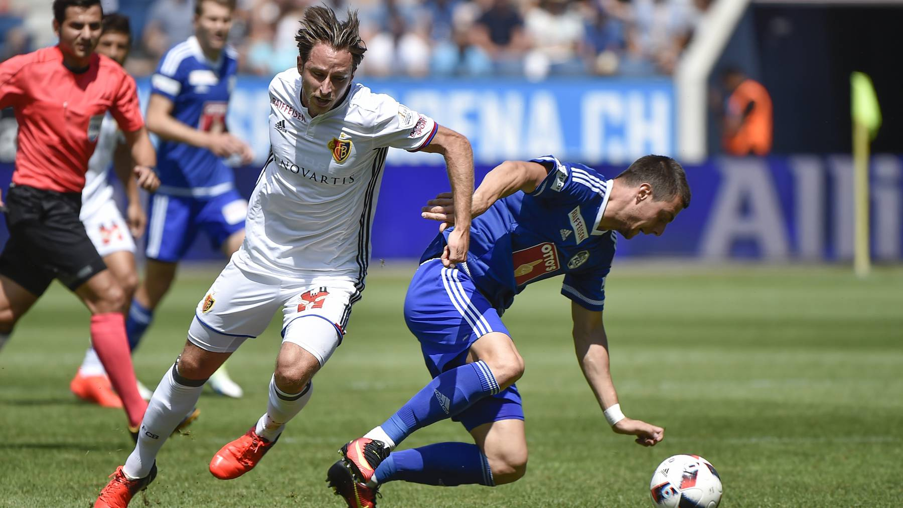 FCL - FCB: Zwei Mannschaften in starker Form
