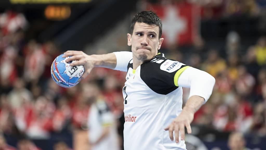 Der überragende Andy Schmid führte die Schweiz zum EM-Sieg gegen Polen