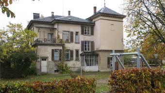 Die Villa Clara muss dringend saniert werden. Bild: fdu