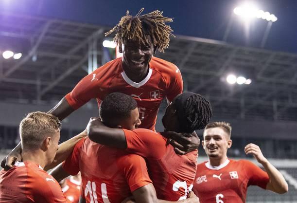 Die Schweizer U21-Nati kann derzeit viel jubeln.