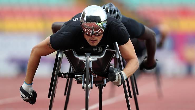 Mit drei Titeln der überragende Sportler an der EM in Berlin: Marcel Hug