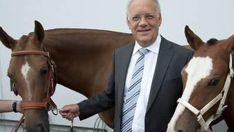 2012 erhielt Schneider-Ammann das Fohlen Voltero am Marché-Concours. (Archiv)