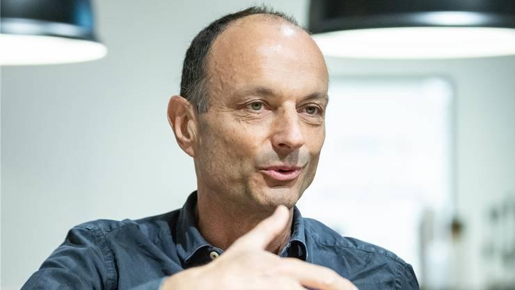 Marco Genoni möchte eine breite Diskussion über den Zukunftsraum.