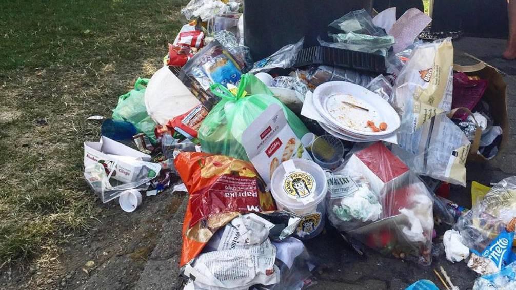 Müllberge am Hallwilersee