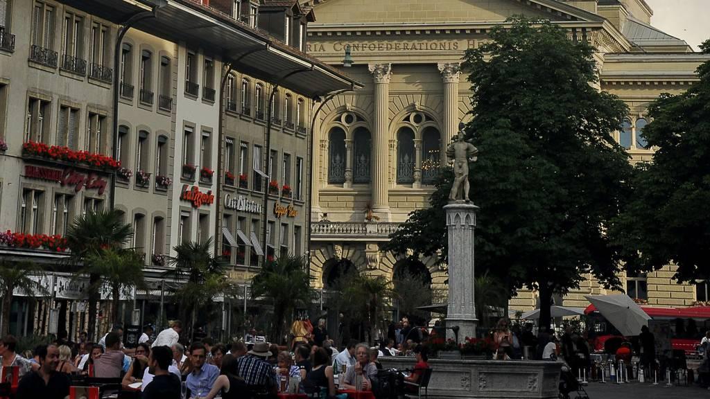 Stadt Bern kooperativ bei Terrassen-vergrösserungen