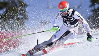 Die Slowakin Petra Vlhova gewinnt den Slalom in Aspen.