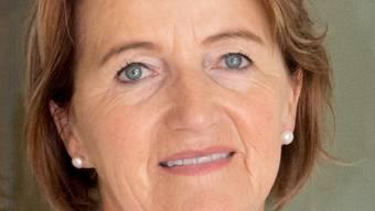 Moderatorin Renate Gautschy: «ZIel ist die Stärkung der Oberstufe und ihrer Unterrichtsqualität, die Planungssicherheit für Lehrerpensen und Abteilungen sowie die Schulinfrastruktur.»