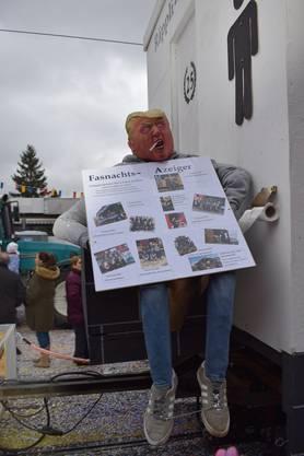 Auch Donald Trump ist dabei: Räppli-Speutzer