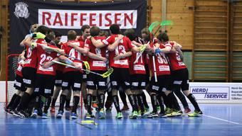 Unihockey Basel Regio gewinnt gegen Zürisee Unihockey ZKH.