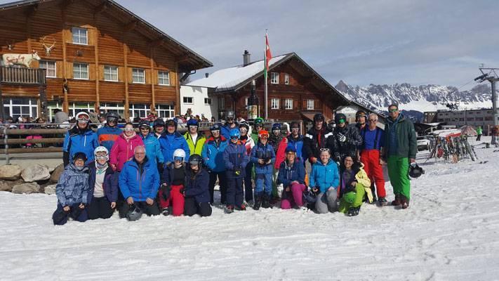 Skiweekend Flumserberg 2019.