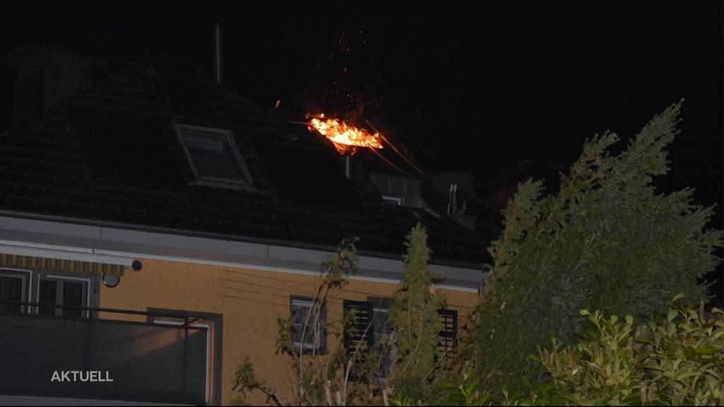 Olten: Doppelbrand am gleichen Ort