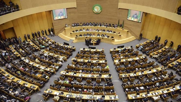 Die Afrikanische Union will einen afrikanischen Kontinent frei von Krieg.