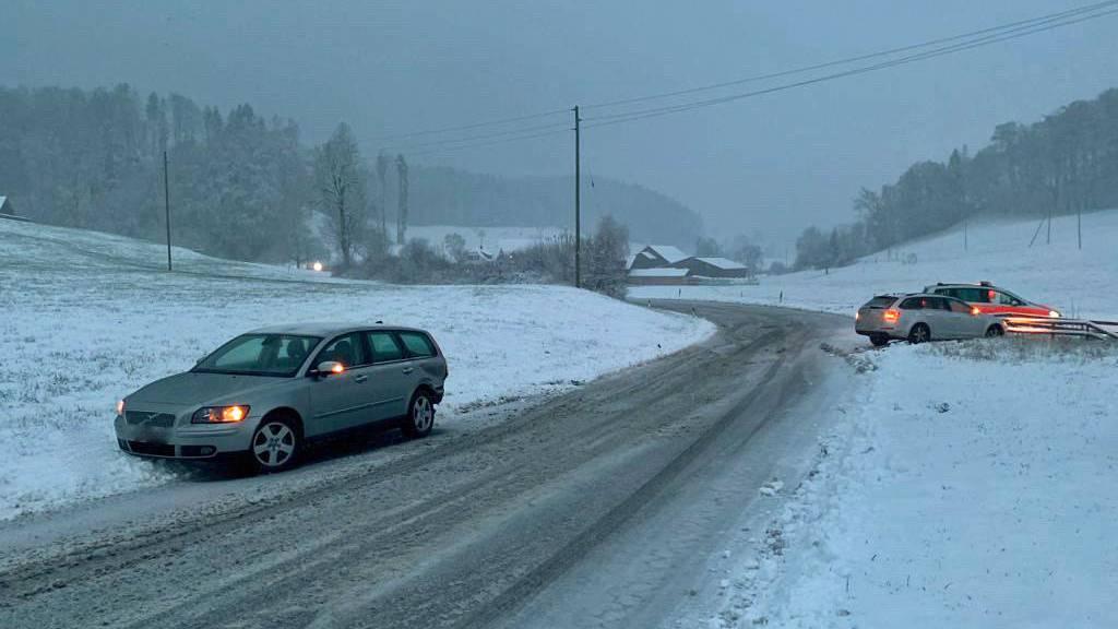 Unfall in Rickenbach