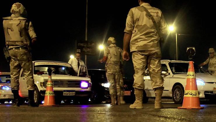 Sicherheitskräfte in Ägypten wurden in den vergangenen Wochen wiederholt Ziel von Angriffen. (Symbolbild)