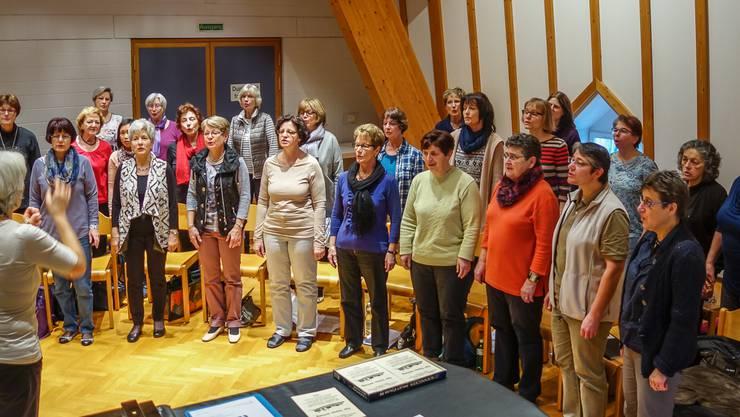 Probeweekend des Frauenchors Birmensdorf