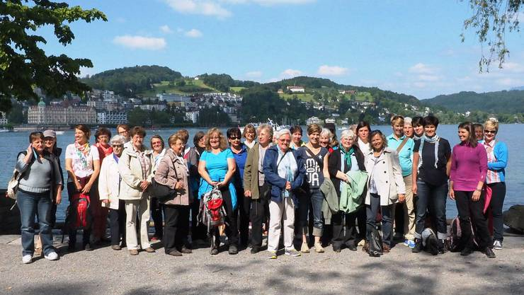 Gruppenfoto am Vierwaldatättersee