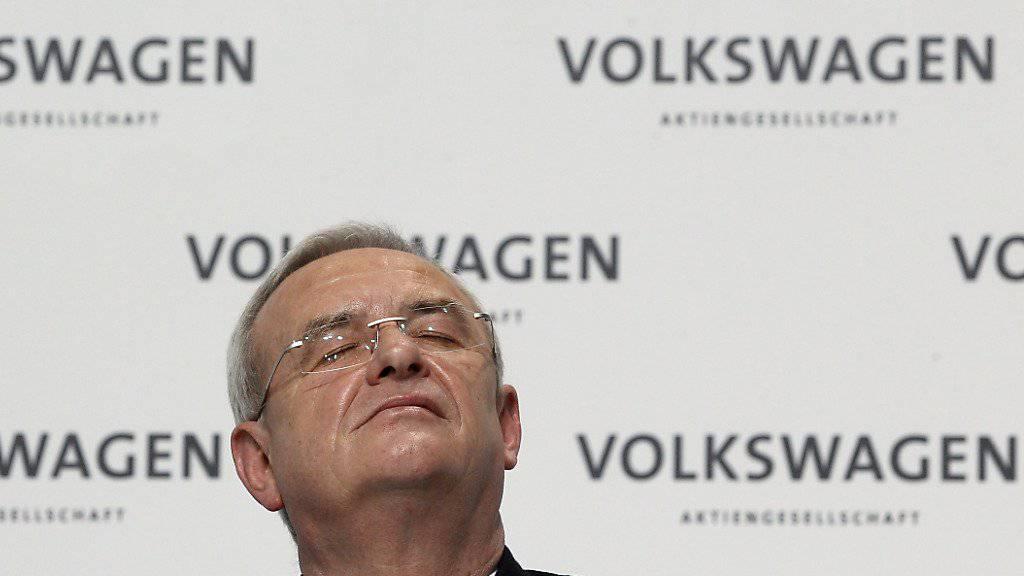 Martin Winterkorn muss auch das Amt als Chef der Porsche-Holding PSE abgeben. (Archiv)