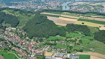 Auch Obermumpf (im Vordergrund) strebt die Mitgliedschaft im Jurapark Aargau an.