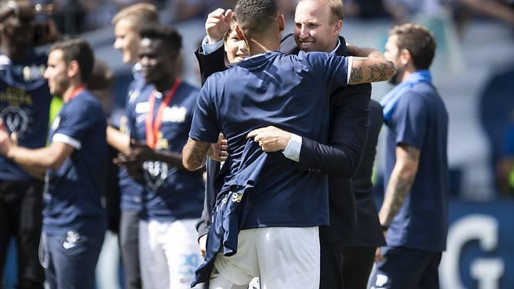 Erinnerungen an den Cupsieg: Ludovic Magnin reist mit dem FC Zürich im Cup erneut ins Stade de Suisse (Archiv)