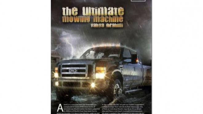 2010 gab al-Kaida in einem Propagandamagazin eine Anleitung für Attentate mit Pick-up-Trucks, um sie als «ultimative Mähmaschine» zu nutzen. Foto: H0