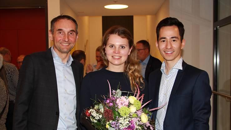 Jasmin Hofer (Mitte), soll für die FDP Rupperswil in den Gemeinderat.