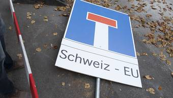 Die Sorge um die bilateralen Verträge mit der EU verlieh den Initianten der Rasa-Initiative Rückenwind. Nun haben sie das Volksbegehren zurückgezogen. (Archivbild)