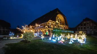 Gewinnspiel Aargauer Weihnachtsbeleuchtung