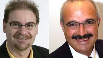 Urs Huber und Kurt Henzmann