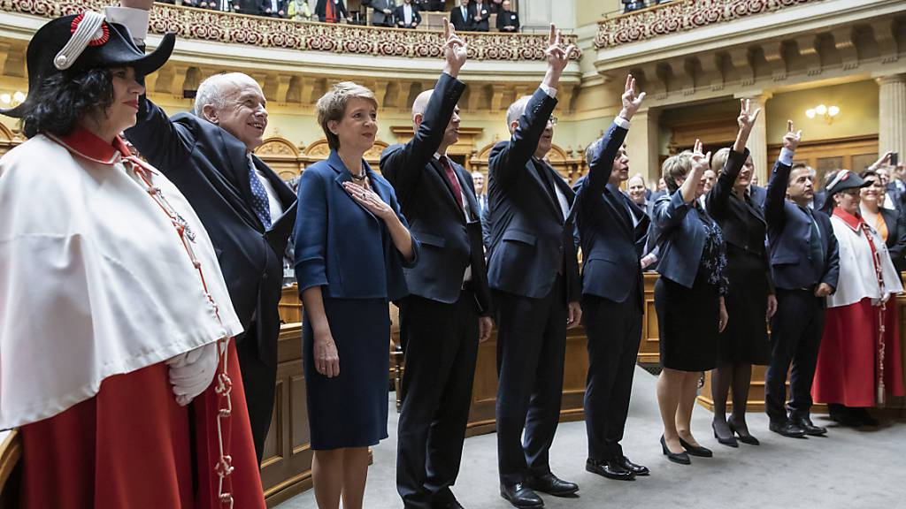 Departements-Rochade im Bundesrat bleibt aus