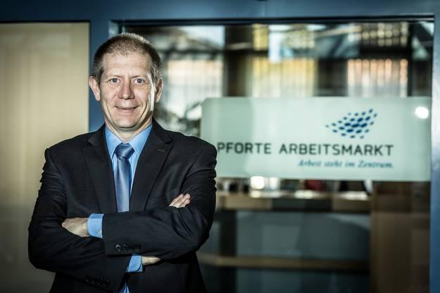 Eros Barp, Leiter Pforte Arbeitsmarkt