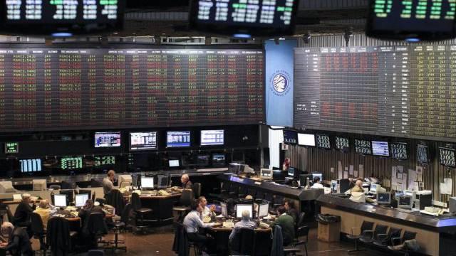 Blick in die Börse in Buenos Aires (Archiv)
