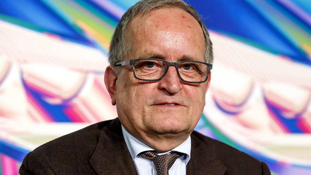 """""""Ohne Diesel gehts nicht"""": der Präsident von Auto-Schweiz, François Launaz. (Archivbild)"""