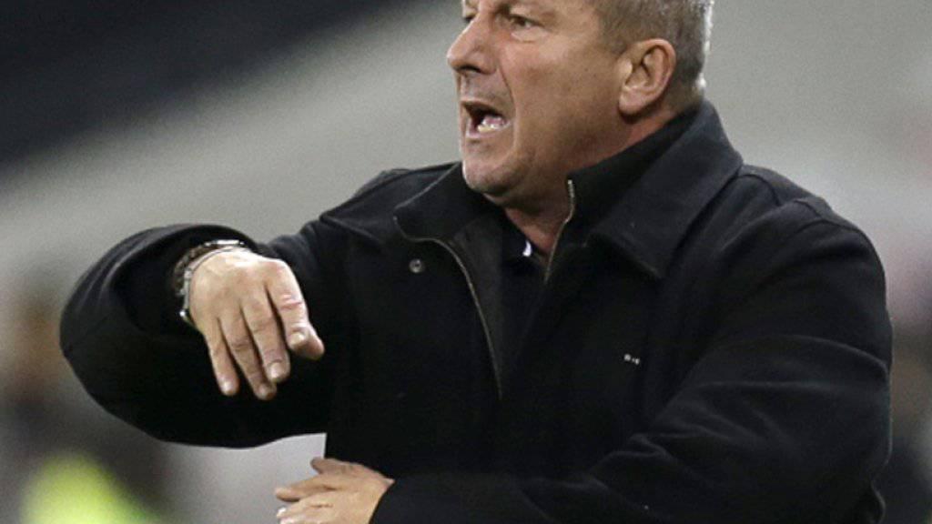 Gelungener Einstand: Rolland Courbis gewann sein erstes Spiel als Trainer von Rennes
