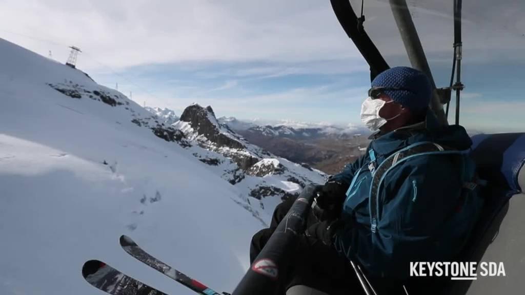 Skigebiet Titlis-Engelberg investiert in Massnahmen für Corona-Wintersaison