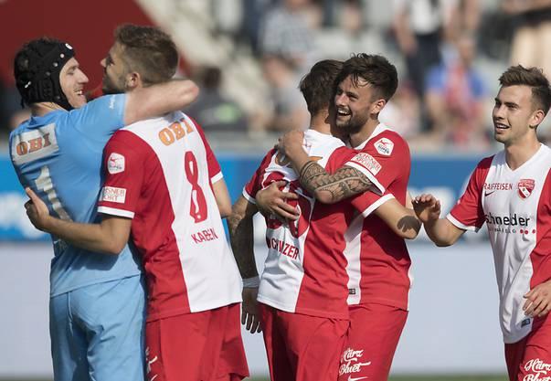 Beim FC Thun ist das Team der Star.