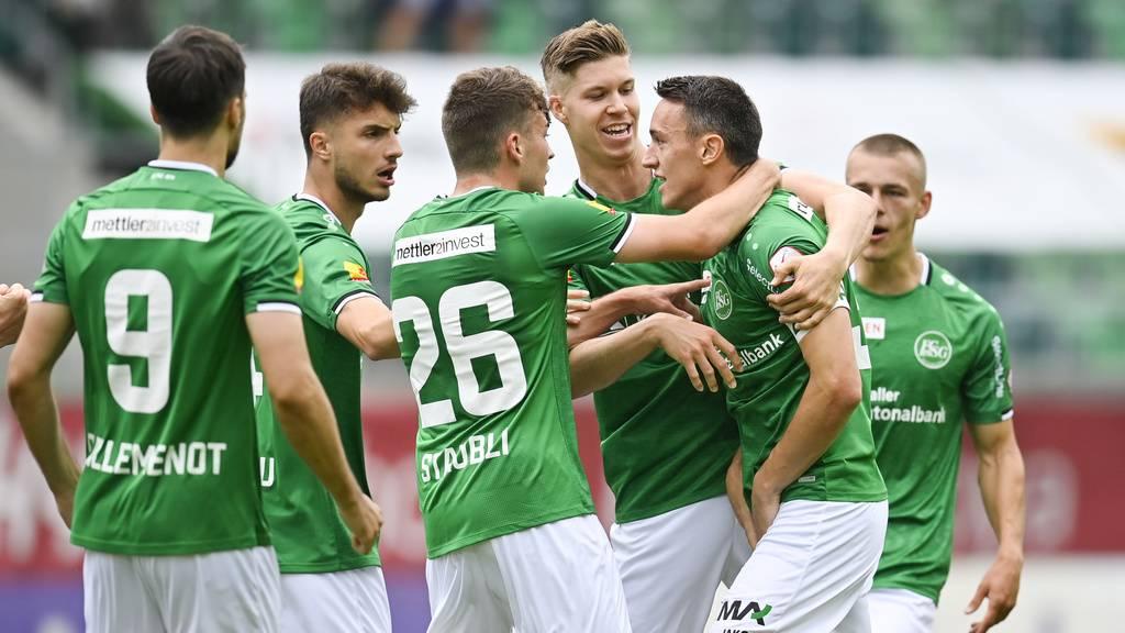FC St.Gallen zeigt im Spiel gegen Thun starke Reaktion