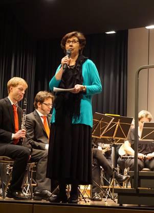 Marietta Ehrler führte durch das Konzert