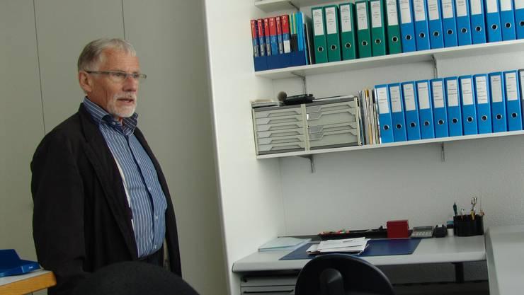 Engagierte sich 14 Jahre lang in der Kirchenpflege und trat diesen Sommer als Präsident zurück: Robert Eigenmann.
