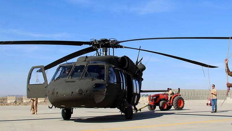 Ein US-Helikopter in Afghanistan. (Archiv)
