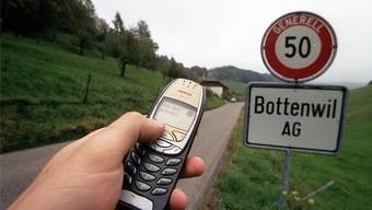 In Bottenwil steht nun eine Natelantenne, die Bottenwiler haben jetzt mehr Empfang.