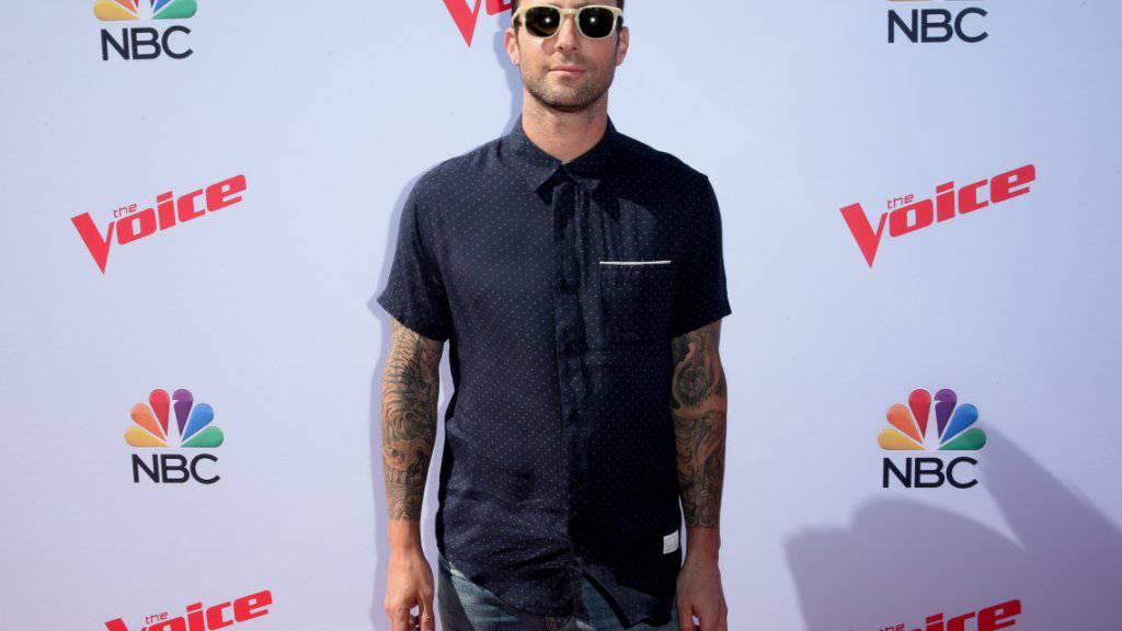 Maroon-5-Sänger Adam Levine freut sich auf Vaterrolle